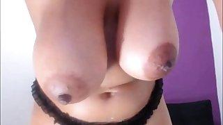 Daunting Big Bosom Nipples