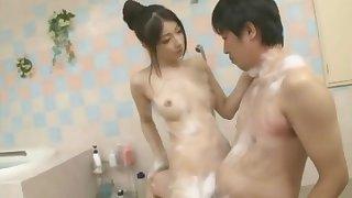 ABS167-Yua Sakuya gives blowjob increased by swallows cum