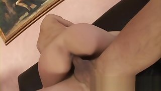 Hot Blonde Fucked And On touching A In agreement Handjob