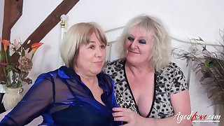 Two british adult ladies got concern engaged unrestricted hardcore group lovemaking