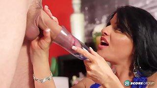 Jade Drinks Cum - 40SomethingMag
